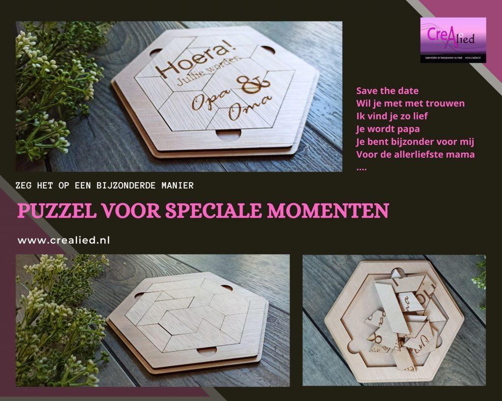 Puzzel voor speciale momente